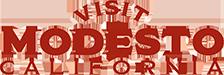 Visit Modesto Logo